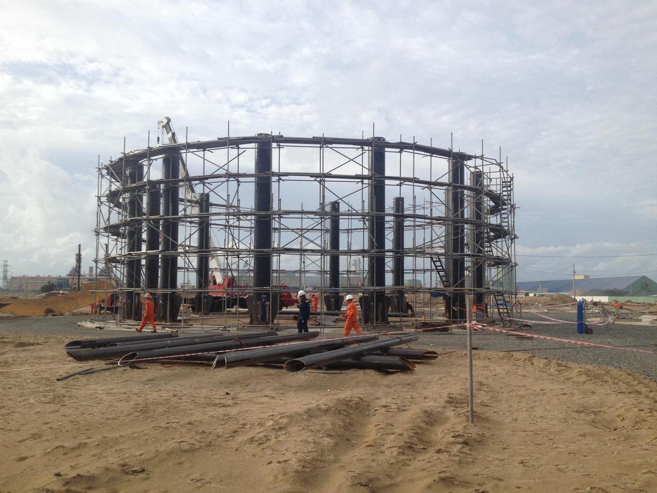 Cung cấp vật tư và thi công xây dựng Gói số 1 cho Dự án Nhà máy xử lý khí Cà Mau
